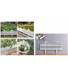 White Plastic Fence Small Medium And Large Shopee Philippines
