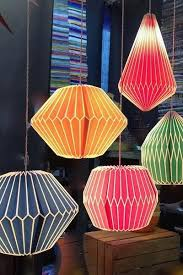 festival pleated pendant lights paper