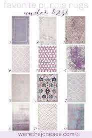 Favorite Rugs For Kids Bedrooms And Nurseries Under 250 We Re The Joneses Purple Girls Room Girls Room Rugs Nursery Rugs Girl
