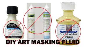 arthack diy art masking fluid make
