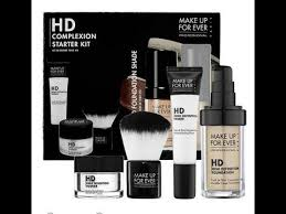 makeup forever hd plexion starter