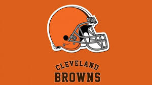 new cleveland browns logo wallpaper on