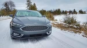 used 2017 ford fusion platinum hybrid