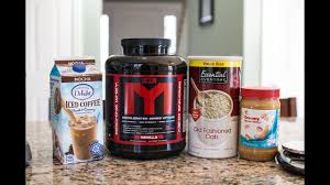 homemade protein meal replacement shake