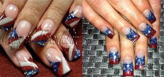 july acrylic nail art designs ideas