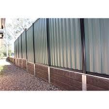 Ridgi 580mm X 50mm X 3mm Galvanised Steel Fence Bracket Bunnings Warehouse