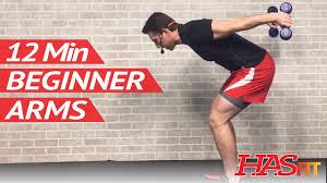 beginner arm workout for women men