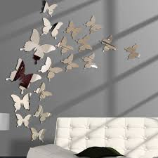 Hot Price Ef20f 12pcs Lot 3d Butterfly Mirror Wall Sticker Decal Wall Art Removable Wedding Decoration Kids Room Decoration Sticker Cicig Co