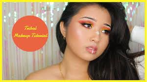 native american tribal makeup tutorial