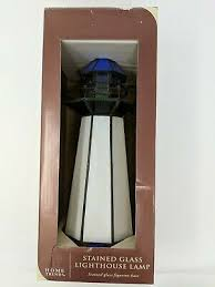trends stained glass electric lighted