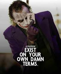 pin by mani mahesh on joker quotes joker quotes ignore me