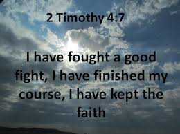 2 timothy 4:7 – Truth in Palmyra