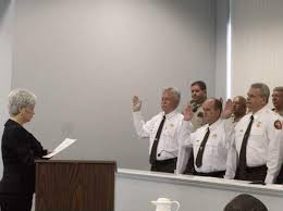 Polly Martin now officially is sheriff - Coastal Courier