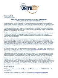 UN End Violence Against Women   Violence Against Women   Ban Ki Moon