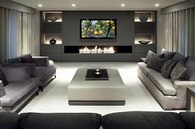 wall mounted tv w fireplace wall unit