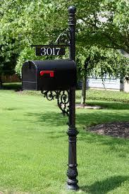 Wrought Iron Mailbox Post Google Search Wrought Iron Mailbox Mailbox Landscaping Mailbox
