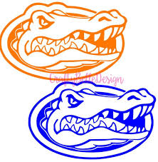 Florida Gator Decal Gator Decal Florida Gator Car Decal Etsy