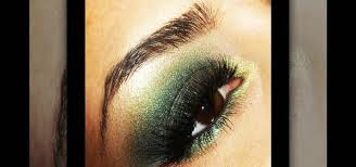 green witch inspired makeup look