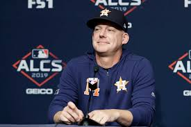 Astros' AJ Hinch on sign-stealing ...