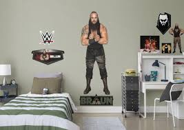 Wwe Bedroom Ideas Braun Strowman Wall Decal With 7 Wwe Decals To Enhance Your Room With Visit Us And Follow Us On Pin Wwe Bedroom Boys Bedrooms Boy S Bedroom