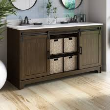 sliding door vanity wayfair