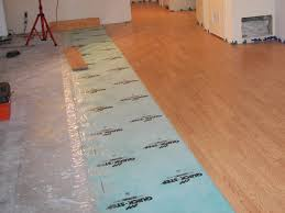 putting wood floors on concrete slab