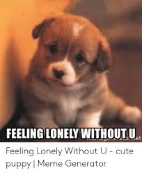 FEELING LONELY WITHOUT U Et Feeling Lonely Without U - Cute Puppy ...