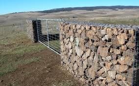 Gabion Walls Rock Filled Designer Retaining Walls And Fences
