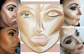 tips to contour face with makeup for