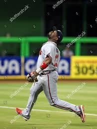 Atlanta Braves third baseman Adonis Garcia 13 Editorial Stock ...