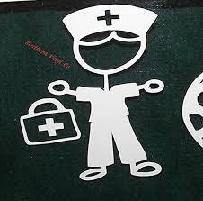 Amazon Com Dr Decal Male Nurse Decal Custom Decal Custom Monogram Monogram Decal Monogram Car Decal Custom Car Decal Monogram Stickers Personalized Handmade