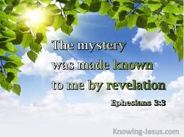 bible verses about god revealing mysteries