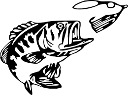 Small 4 X7 5 Bass And Lure Vinyl Wall Decal Vinyl Car Decal Bass Fishing Fishing Decals Bass