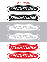 2pcs 20 Freightliner Vinyl Sticker Decal Graphic Columbia Cascadia Semi Truck