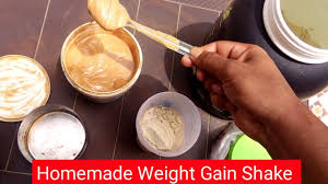 weight gainer muscle building shake