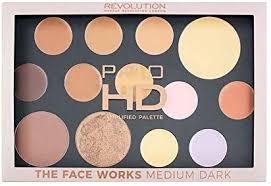 pro hd palette the works um dark