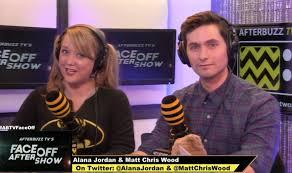 Model Matt Chris Wood, special guest on AfterBuzz TV with Alana Jordan,  talking SyFy FaceOff behind the scenes stuff | Chris wood, Chris, Alana