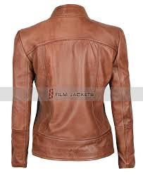 montana womens camel leather jacket