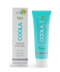 coola spf30 face mineral sunscreen