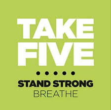 Image result for TAKE FIVE breathing