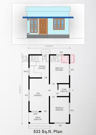 four low budget small house plans from