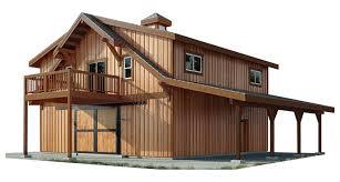 oakridge apartment barn kit wood barn
