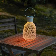 led solar powered lantern light 703 830