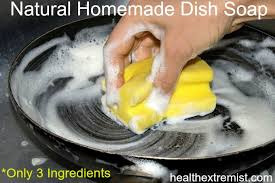natural homemade dish soap only 3