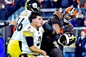 Browns' Myles Garrett suspended indefinitely over helmet attack on Steelers  player