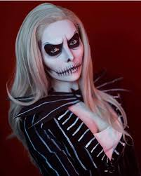 iconic skeleton makeup for