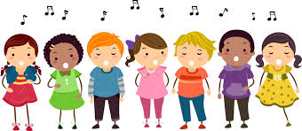 Free Children Singing Silhouette, Download Free Clip Art, Free ...