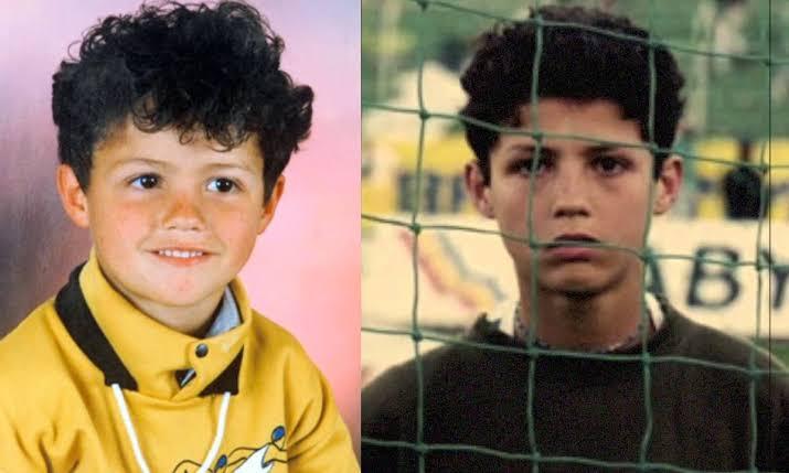 "Image result for cristiano ronaldo childhood photos"""