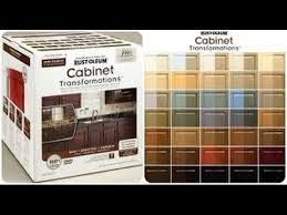 rustoleum cabinet transformation you