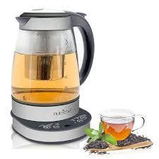 qt glass electric tea kettle